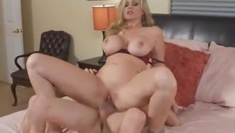 Magnificent Action Mother Julia Ann treasures sex games