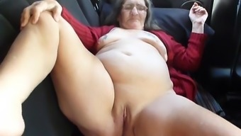 enjoying real world bitch getting fucked with the spine couch of vehicle