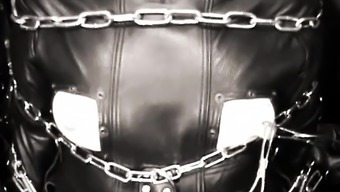 The Leather Domina - Leather-based Craze - Whole A leather covered tub chair Servitude
