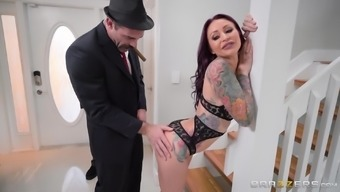 Monique Alexander cannot resist a striking hunk's competent come in contact