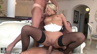 nickname courtney sucking one manhood despite the fact that anally using another