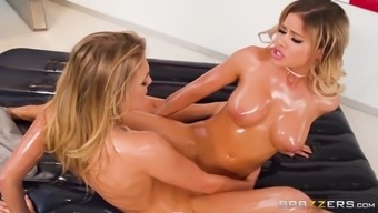 a couple of beautiful lesbians jessa rhodes and zoey taylor