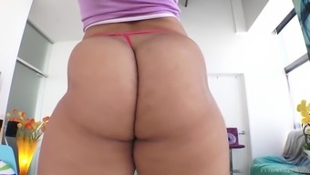 ebony youngster adrian maya enhance her stunning stupid ass