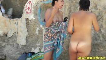 Amateur Nudist Milfs Wireless Camera Shore Voyeur Hidden