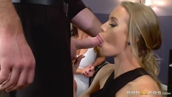 nicole aniston blows her husband's dick before such a massager nikki benz