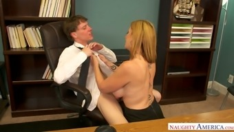 Sizzling chief Sara Jay likes her new detain to actually fuck her pussy wonderful