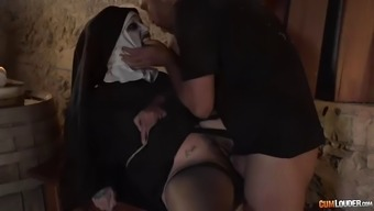 conjuring fuck by using attractive but nonetheless malefic nun silvia rubi