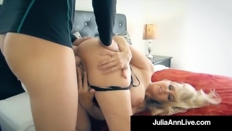 the hottest milf in adult porn julia ann burst an entire adult porn beginner