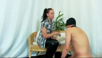 Brutal pounding and beating verdict from sizzling mistress