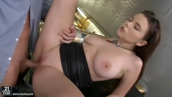 bar dude enjoys fucking tight russian clit of big tits waitress pier visconti