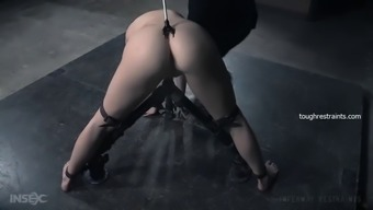 aria alexander gets dildo fucked in bdsm