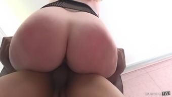 great britain bombshell harmony reigns fucks a blessed with good luck latin dick