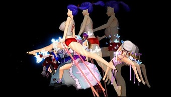 [Touhou MMD] Severe Versus.Packed BBA