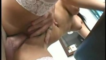Big creampie squirt from youngsters pussy