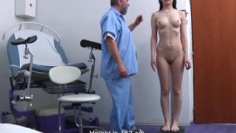 Timea Gyno Examination - anal and vaginal area observation before speculum insertion