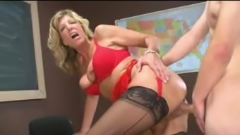 Dripping fucked out grow older pussy
