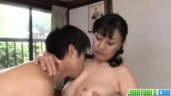 Big tits mom savours extreme