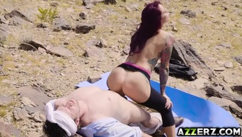 Redheaded MILF Monique Alexander bangs within the waste