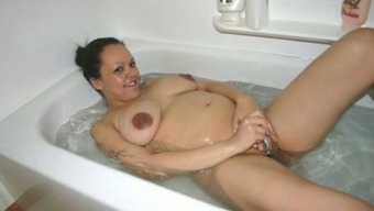Pregnant GFs Totally Nude!