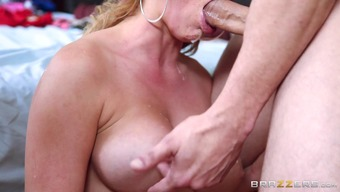 Cheating milf made happy by a hunk by using a great very difficult penis