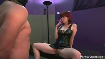 Mistress femdom group strapon pounding plus much more