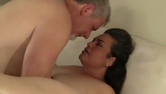Naughty Hispanic Plumper Angelina gets fucked already has