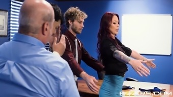 Monique Alexander In Group Expanding Sexcercise