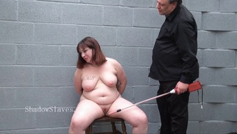 Heavy slavesluts electro bdsm and repulsive crying bbw
