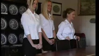 Brits Little girls Rigorous via the Headmaster by snahbrandy