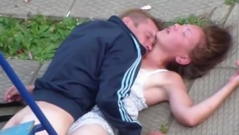 Drunk A few Making out in the community Playground