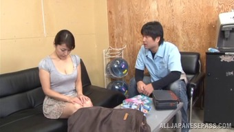 Seductive pornography hottie Nao Katoh enjoys to have nailed complicated and doggystyle