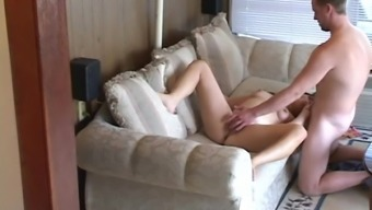 Novice dark gets her vag licked and fucked profound in concealed cam clip