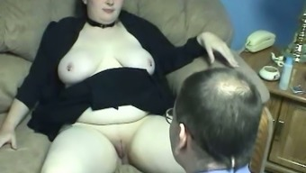 Plumper dairy products sensitive Big beautiful woman op welke manier gets her puffy clit consume