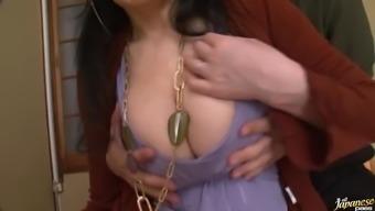 Horny Far eastern MILF Masturbating Despite the fact that Giving a Blowjob
