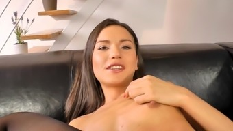 Youthful dark Nataly Good and old cock