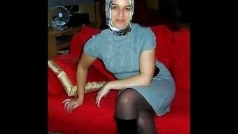 Turkish-arabic-asian hijapp combine photo five