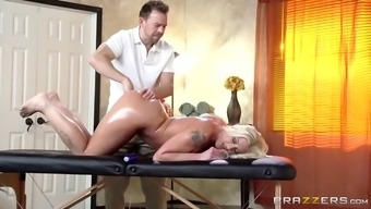 Superb oil massage therapy results in the love cheat