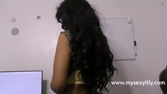 Astounding Indian Porno star Toddler Lily Grimy Intercourse Dialogue In Tamil