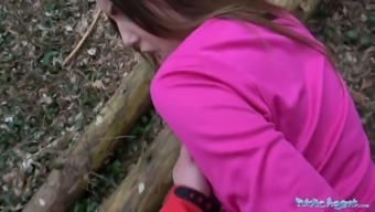 Community Service provider Sexy dancer fucked in the woods