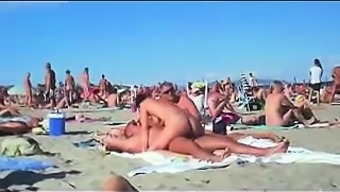 cuckolding inside a topless beach gets posted
