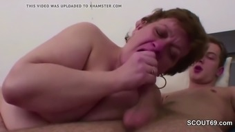 Grandma Instruct Youthful Lad to really Fuck and place Angle in Asshole