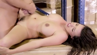 Danica Dillon seduces a favorable partner for getting a great shagging game