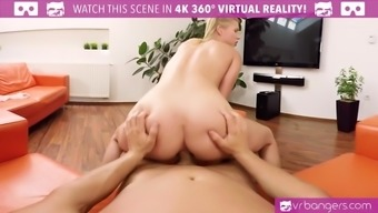 VR PORN-Sexy Black Angel Piaff Get Her Pussy and Spunk