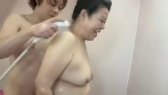 Japanese BBW Granny shino moriyama 66-years-old H-0930