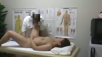 busty milf creampie fucked by health professional