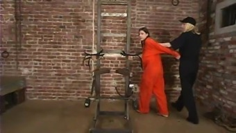 Mallory Knots gets brutally fucked with the use of wired products in BDSM curtail