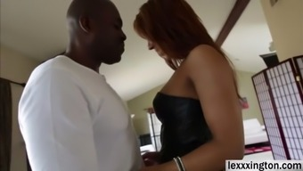 Plus sized gal Sophia Fiore adeptly needs a greater phallus