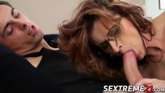 Horny guy Toll drills a complicated granny Mayna tremendously