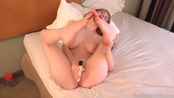 sensual both feet - abbey pour masturbation