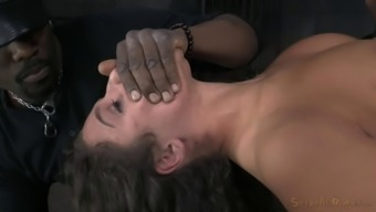 Person who serves butt getting spanked thereafter ravished amazing in BDSM